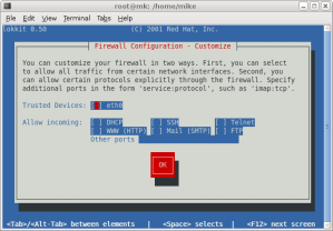 Red Hat Firewall