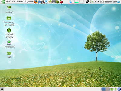 Greenie 5j Linux Desktop
