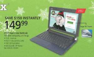Black Friday Linux Netbook